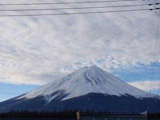 1月3日朝7時〜富士の山〜