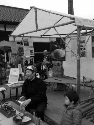 竹テント作り