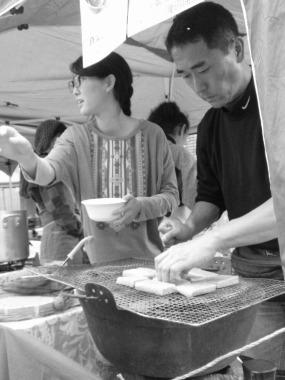 玄米餅のいそべ焼き、いかがですか?