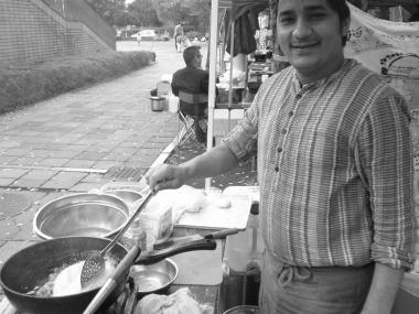 ネパール料理だけど精進料理です。