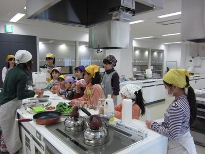 子ども料理教室1