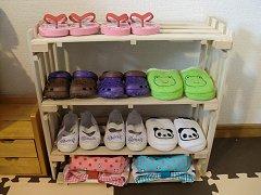 ミニ靴棚@すのこ