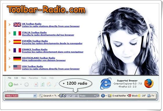 Toolbar-Radio