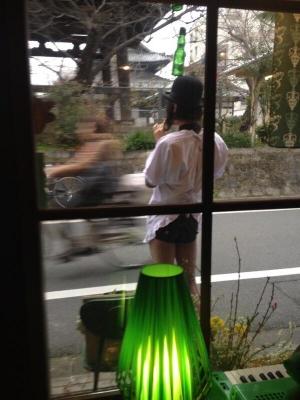 喫茶ゆすらご前で瞬間移動するオバハンを目の当たりにする家政婦あみ太