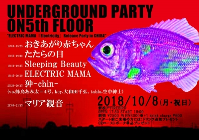 新松戸FIREBIRD「Underground Party On 5th Floor」狆-chin-来襲