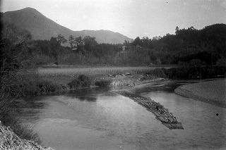 肱川の筏流し