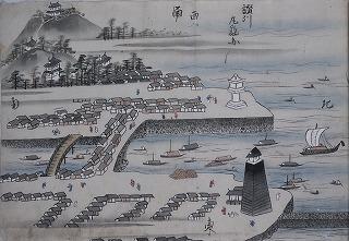中国四国名所旧跡図(丸亀図)