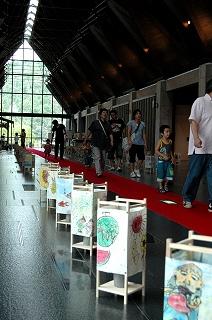 愛媛県歴史文化博物館あんどん祭り