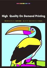 RGB高彩度オンデマンド印刷 出力サンプルカタログ