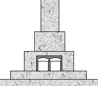 お墓の納骨室