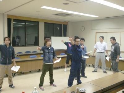 エコレンジャー練習