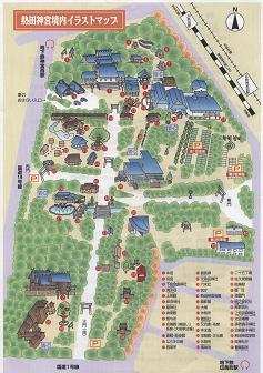 熱田神宮地図