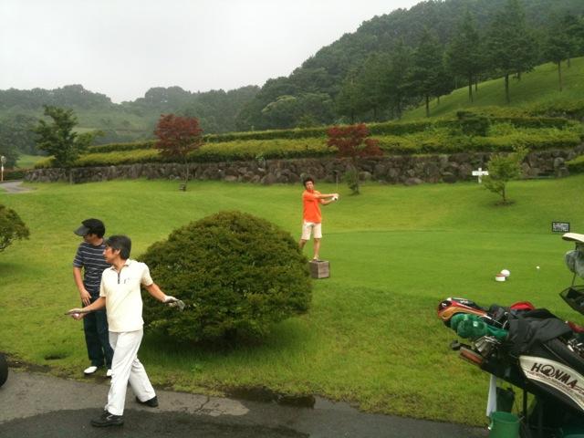 部長杯ゴルフ
