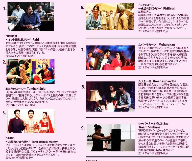 インド映画祭 1
