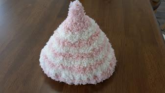 どんぐり帽ピンク