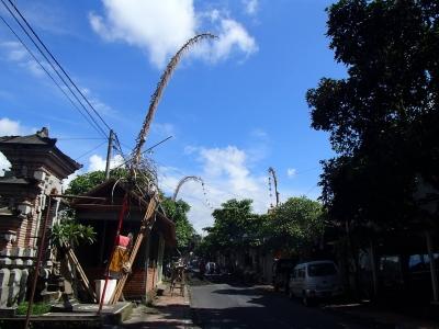 ubudの風景
