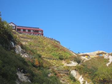 燕山荘まで