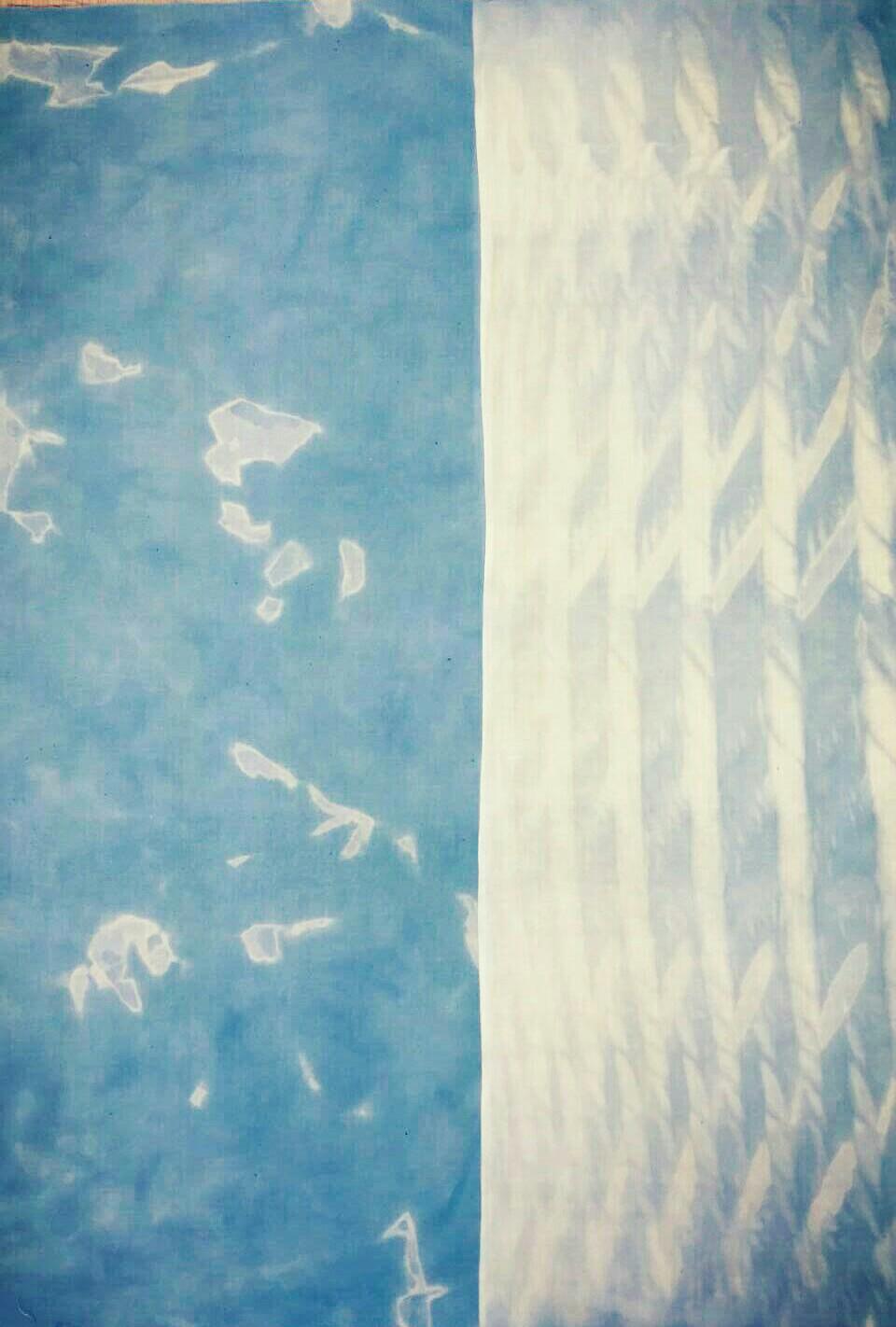 藍の生葉染め