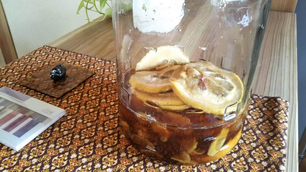 レモンと生姜の酵素ジュース