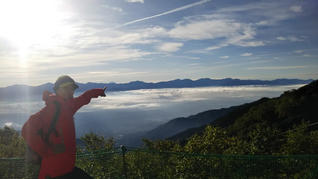 雲海からの朝日