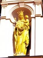 聖母子彫像