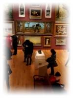 美術館内の様子
