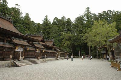 熊野本宮大社 前庭