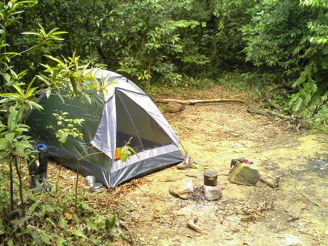 第一山小屋跡
