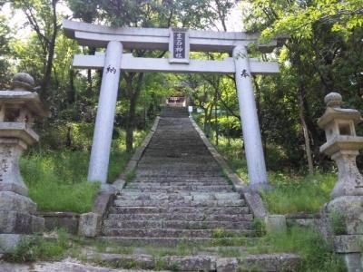生石神社石段