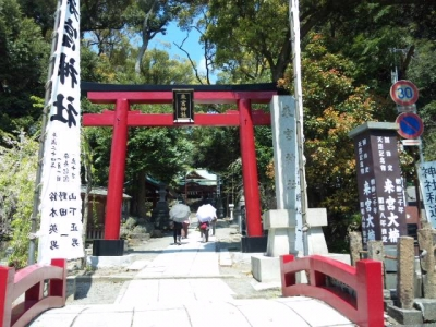 来宮神社参道入口