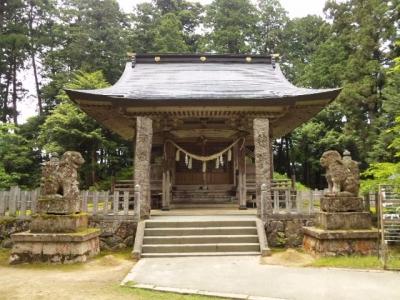 粟鹿神社社殿