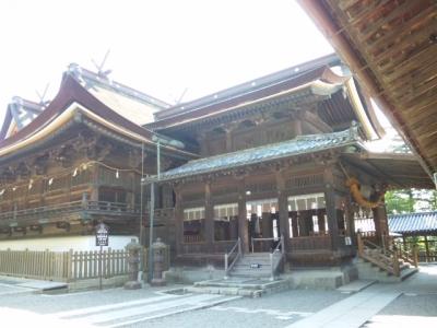 吉備津神社社殿(国宝)
