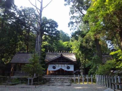 元伊勢内宮拝殿