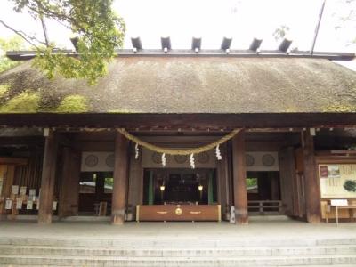元伊勢籠神社拝殿