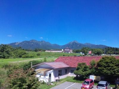 自然学校から見る八ヶ岳