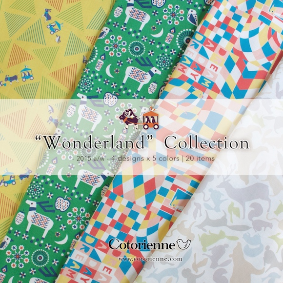 Cotorienne コトリエンヌ Wonderland Collection by anyan