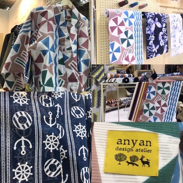 浴衣デザイン テキスタイルデザイン anyan design atelier