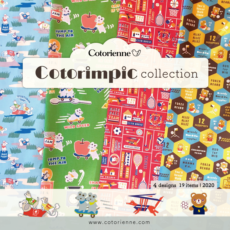 Comorienne/コトリエンヌ Cotorimpic collection