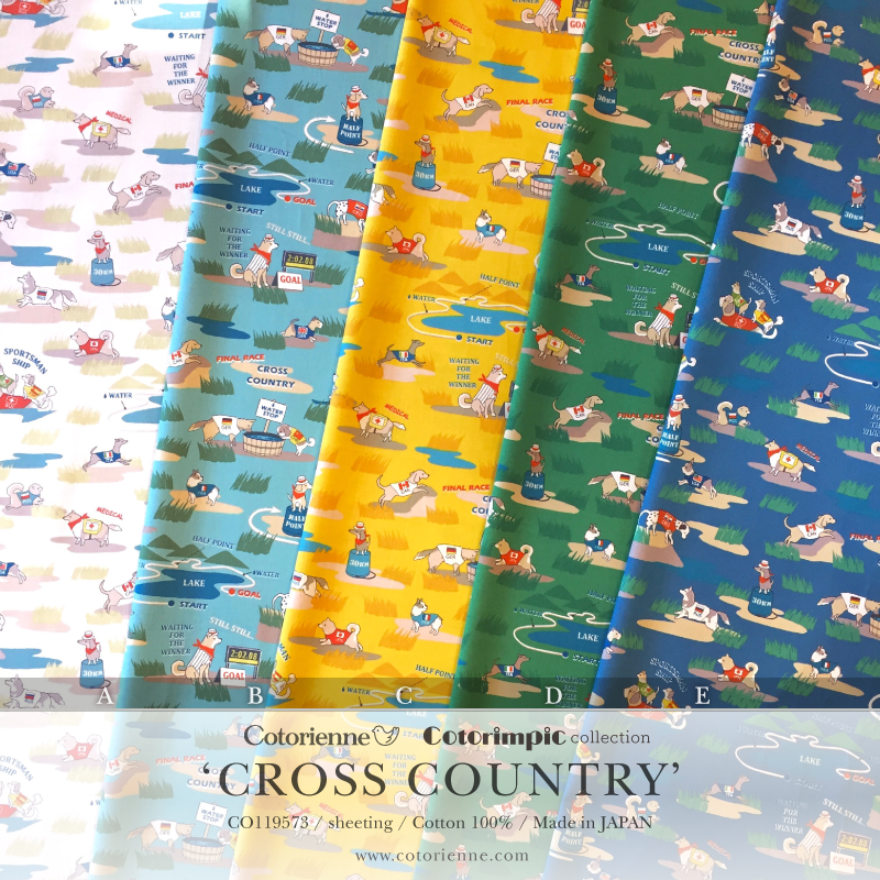 Comorienne/コトリエンヌ Cotorimpic collection CROSS COUNTRY
