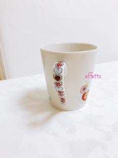 ポーセラーツ,ガラスフュージング,大阪市,only one,マグカップ,食器