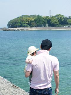 いざ!島へ渡ります。