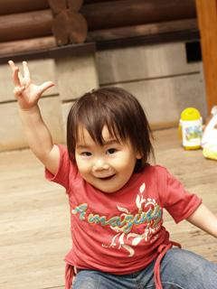 「ぽっぽ〜!!」に大興奮!