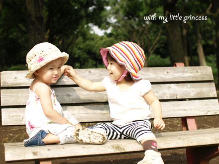 レイちゃん(左)と仲良し☆