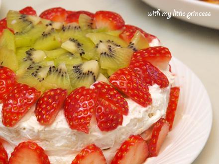母の手作りケーキ☆
