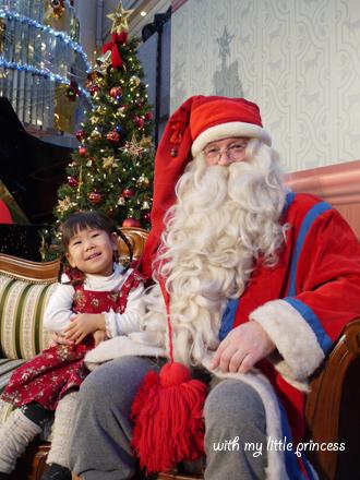 サンタさん、格好いい!