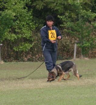 西川訓練生