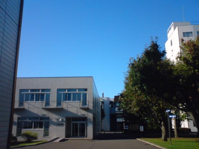 北星学園から見た青空