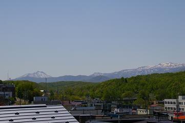 恵庭岳と漁岳