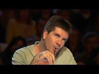 審査員はポッツさんの歌声を聞いてから、顔の表情も変わった