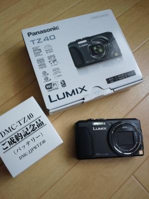 新入り LUMIX DMC-TZ40